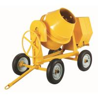 China Electric Motor 4 Wheels Portable Concrete Mixers For Cement , Sand , Mortar on sale