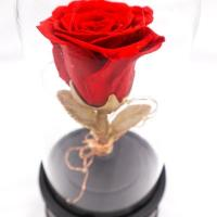 Best Immortalized Glass Eternal Rose Bluetooth Speakers Keeping Fresh For Long Time wholesale
