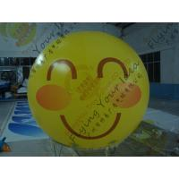 Cheap Amazing Round Inflatable Advertising Balloon Attractive Smile Design for sale