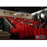 Best 4D Movie Theater 4D Motion Cinema Seat 2Seats Spray Air, 55 Inch Or Customize wholesale