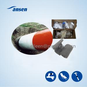 Best Industrial Strength Fiberglass water activity polyurethane resin Pipe Repair Wrap armor bandage to Fix Broken or Leaking wholesale