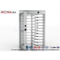 Best High Security Full High Turnstile Access Control Use for Prison With Stainless Steel wholesale