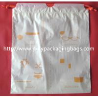 Best Small Packaging Poly Bags , Drawstring Pouch Bags 2 Colors Gravure Printing wholesale