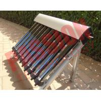 Cheap High Absorption Heat Pipe Collector , Solar Hot Water Collector Pitched Roof for sale