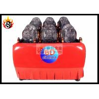Best Luxury 6D Local Movie Theaters with Hydraaulic Platform for 6 / 9 Connected Seats wholesale