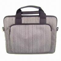 Best New zipper bag for iPad and laptop, with detachable and elastic shoulder strap. wholesale