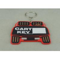 Best Stamping / Die Casting Rubber Key Chain , Design Your Own Custom Shaped Keychains wholesale