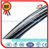 Best IEC 60502 Aluminum Aerial Cable , High Voltage Pe Insulated Cable Messenger Wire wholesale