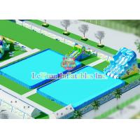 Best Stainless Steel Custom Swimming Pools Tough Fireproof For Hot Summer wholesale