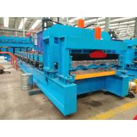 Best Steel / Aluminum Glazed Tile Roll Forming Machine Automatic Control Type wholesale