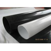 China High Flexibility LLDPE Pond Liner , Hydropower Project Grey Pond Liner on sale