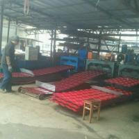Best 5 Waves Glazed Panel Making Machine For Country House In Chile Village wholesale