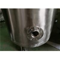 Cheap Industrial Gasline / LPG Gas Storage Expansion Tanks With Full Parts Vertical Orientation for sale