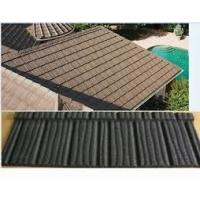 Best metal roof shingles/construction building stone chips coated metal roof tiles/roof sheet/ roof panels wholesale