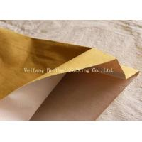 Cheap PP Woven Kraft Paper Plastic Composite Bag For Graphite Powder Packing for sale