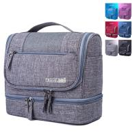 Buy cheap 600D polyester Travel Cosmetic Kits Bag Large Capacity Tactival Shaving Bag from wholesalers