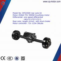 Details of factory price electric car rear axle motor kit for Brushless dc motor cost