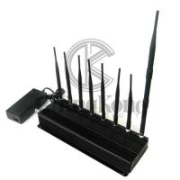 Best 8 Antennas Remote Control Signal Jammer With 2.4G 5.8G Or GPS Lojack wholesale