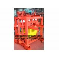 Best high quality 4-40 small concrete block machine for hollow blocks wholesale