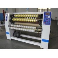 Quality Automatic BOPP Adhesive Tape Slitting Machine For Fabric / Thermal Paper wholesale