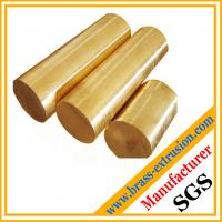 China copper alloy square round brass bar and rod C38500 CuZn39Pb3  CuZn39Pb2 CW612N C37700 on sale
