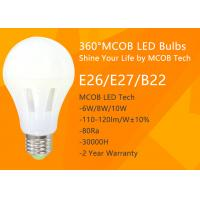 Best LED Light Bulb , 75 - 100 Watt Incandescent Bulbs Equivalent for Home Use , 360° Beam Angle, 1200lm 10W , Dimmable MCOB wholesale