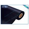 Mattress Spunbond Non Woven Fabric Black Mothproof / Waterproof