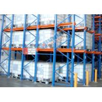 Quality Roll Forming Food Companies Drive In Storage Warehouse Racking Shelves wholesale