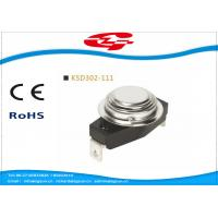 Best KSD302-111 Temperature Switch Thermostat , Bimetal Disc Thermostat Automatic Reset wholesale
