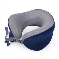 Best Travel Accessories Memory Foam Neck Roll Pillow For Neck Pain , Long Life wholesale