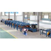Copper or aluminum flat wires hydraulic draw bench
