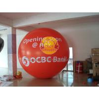 Best Custom Made Red Giant Fill Business Advertising Helium Balloons for Entertainment Events wholesale