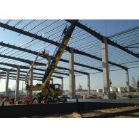 China Light Steel Steel Structure Construction Metallic Roof Structures For Warehouse on sale