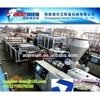 Best Plastic PVC wave roof tile/roofing sheet material extruder extruding machine equipment wholesale