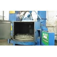 Single Side Cleaning Rotary Table Shot Blasting Machine For Small Hardware ZT1600