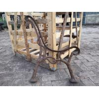 Best Custom Outside Wrought Cast Iron Bench Ends / Cast Iron Garden Furniture wholesale