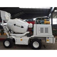 Best 4X4 Mobile Concrete Mixer Self - Made Chassis With Feeding Bucket 6m3 And YC4A Engine wholesale