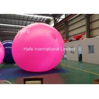 China Advertising Big 5m Inflatable Helium Balloon Lights With 165W Led Light on sale