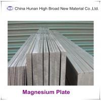 Best 99.95% Pure Magnesium Alloy Sheet / Plate For CNC Engraving / Embossing wholesale