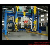 Best Automatic Movable Gantry Welding Machine 18m Rail For H Beam Production Line wholesale
