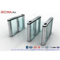 Cheap Slim Speed Gate Turnstile , Access Management Automatic Swing Gates with for sale