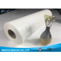 "Best Outdoor Eco Solvent 380gsm Glossy Inkjet Pure Cotton Canvas Roll 122"" wholesale"