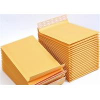 Cheap 360x460 Kraft Paper Bubble Padded Postal Envelopes #A3 Three Side Seal for sale