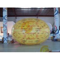 Best Gaint Inflatable Melon Fruit Shaped Balloons UV Printing 4m Long wholesale