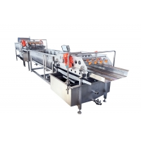 China Air Bubble Salmon Fish 4.8KW Seafood Washing Processing Machine on sale