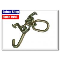 Best Tow Strap Accessories Steel Ratchet Strap Hooks , Vehicle Tie Down Hooks wholesale