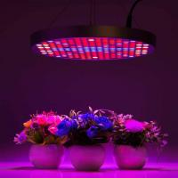 Cheap Marijuana UFO LED Grow Lights With Alluminum / PC Materials , Dia 33x H3 cm for sale