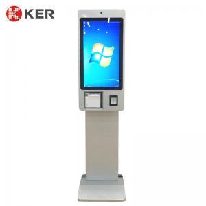 Best Self Service Ordering Kiosk Pos System Cashier Cash Acceptor Machine Payment Kiosks For Fast Food Restaurants wholesale