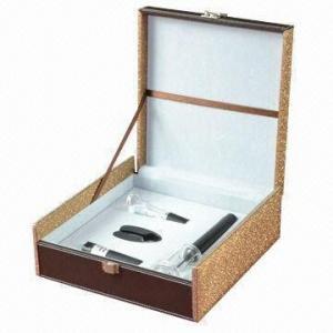 Best 4 pieces ABS air pressure wine opener set, weighs 0.85kg wholesale