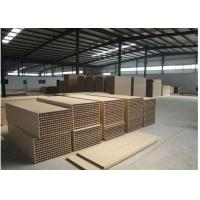 Best Balcony Wpc Composite Decking Boards , Wpc Outdoor Decking Customized Size wholesale